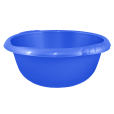 Таз круглый Евро 14 л (голубой) Алеана 121059