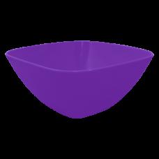 Салатница 240*240*95 мм 2,5 л (тёмно-сиреневый) Алеана 168003