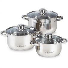 Набор посуды 6 предметов Maestro MR2020-6XL