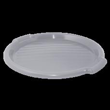 Поднос круглый 39 см (серый) Алеана 167098