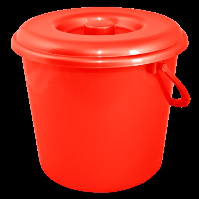Ведро 10 л без крышки (красный) Алеана 122010