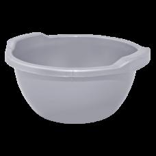 Таз круглый 24 л (серый) Алеана 121055