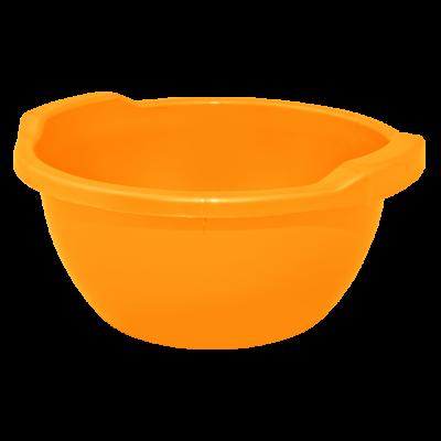 Таз круглый 44 л (оранжевый) Алеана 121056