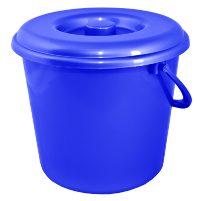 Ведро 5 л без крышки (синий) Алеана 122005