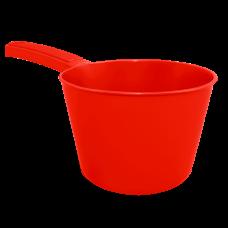 Ковшик с носиком 1 л (красный) Алеана 122091