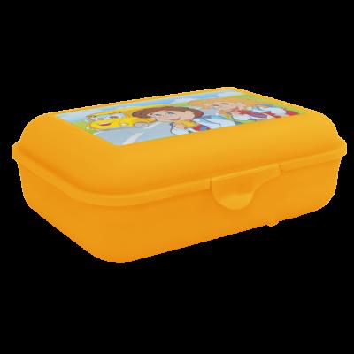 Бутербродница Ланч (оранжевый прозрачный) Алеана 167400