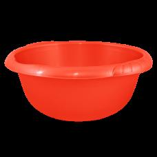 Таз круглый Евро 22 л (красный) Алеана 121060