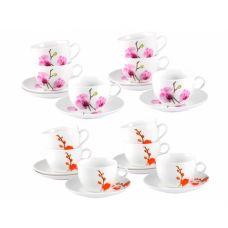 Сервиз чайный Орхидея 240 мл 12 предметов SnT 1461