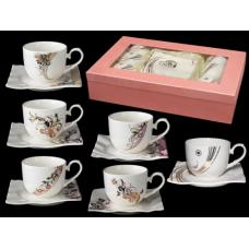 Набор чайный 12 предметов Сваровски SnT 1750