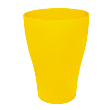 Стакан 0,25 л (тёмно-жёлтый) Алеана 167096