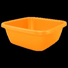 Таз квадратный 6 л (оранжевый) Алеана 121042