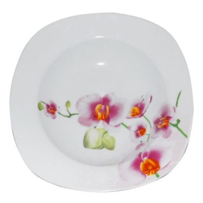 Тарелка 23 см суповая Орхидея SnT 30822/10