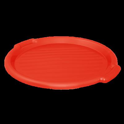 Поднос круглый 39 см (красныйй) Алеана 167098