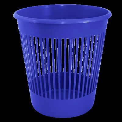 Корзина для бумаги 12 л (синий) Алеана 122052