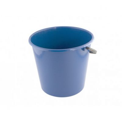 Ведро 8 л без крышки (фиолетовый перламутр) Алеана 122008