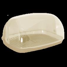 Хлебница 36*27*18 см (бежевый) Алеана 167081