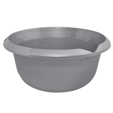 Миска 3,75 л (серый) Алеана 167007