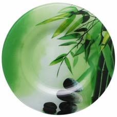 Блюдо круглое Зеленый бамбук SnT 309