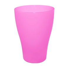 Стакан 0,25 л (тёмно-розовый) Алеана 167096