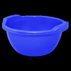 Таз круглый 44 л (синий) Алеана 121056