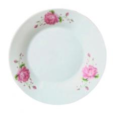 Тарелка 18,7 см Розовая роза SnT 308-902