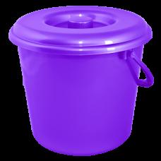 Крышка для ведра 14 л (фиолетовый перлмутр) Алеана 122034