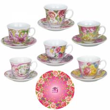 Сервиз чайный Микс (Pink) 12 предметов SnT 151-02