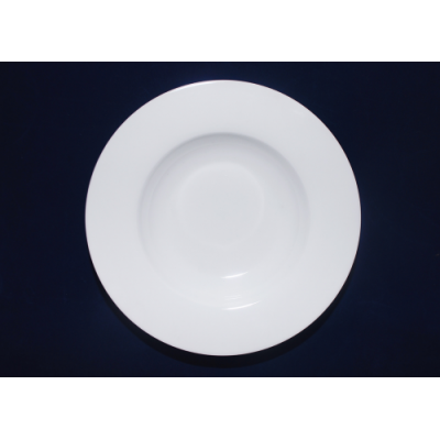 Тарелка 20 см круглая для супа Хорека SnT 3082-01