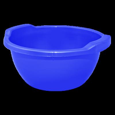 Таз круглый 15 л (синий) Алеана 121054