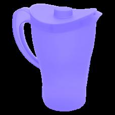 Кувшин с крышкой 2 л (фиолетовый прозрачный) Алеана 168033