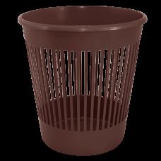 Корзина для бумаги 12 л (коричневый) Алеана 122052