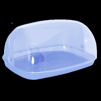 Хлебница 36*27*18 см (голубой) Алеана 167081