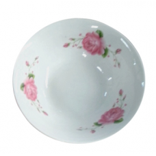 Салатник 15 см Розовая роза керамический SnT 3077-902