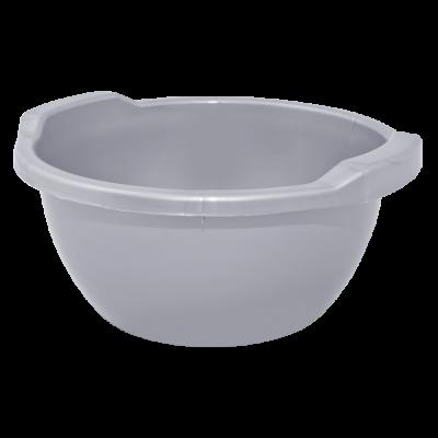Таз круглый 15 л (серый) Алеана 121054
