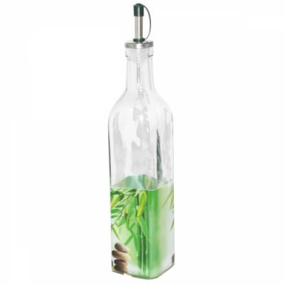 Бутылка для растительного масла 0,5 л Зеленый бамбук SnT 701