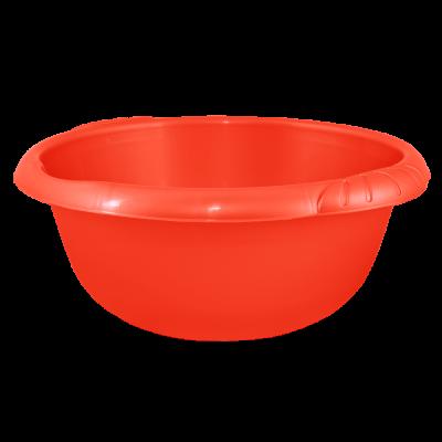 Таз круглый Евро 14 л (красный) Алеана 121059