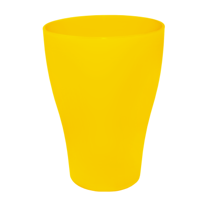 Набор стаканов 0,25 л 6 шт (тёмно-жёлтый) Алеана 167206