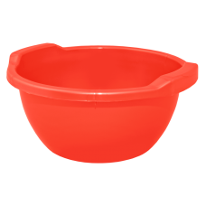Таз круглый 44 л (красный) Алеана 121056