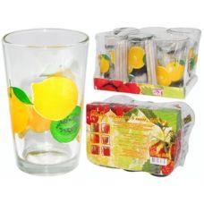 "Набор стаканов SnT ""Лимон"", 945-6"