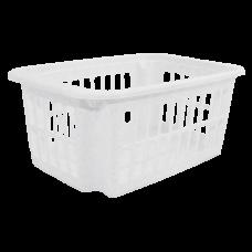 Корзина 4,5 л (белый флок) Алеана 122057