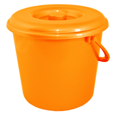 Крышка для ведра 5 л (оранжевый) Алеана 122031