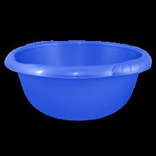 Таз круглый Евро 9 л (голубой) Алеана 121058