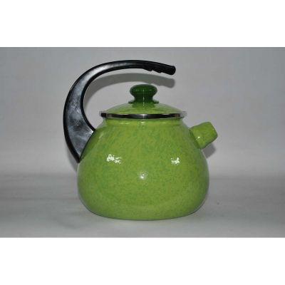 Чайник эмалированный без свистка, 2,5 л.