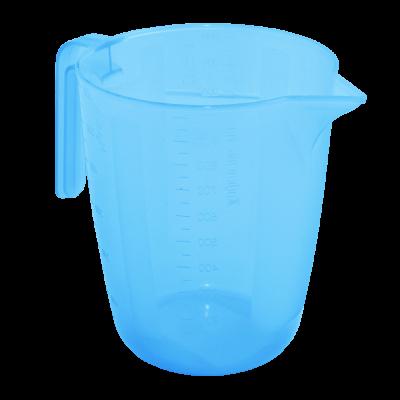 Мерный стакан 1 л (голубой прозрачный) Алеана 167019