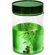 Емкость для сыпучих продуктов Зеленый бамбук SnT 613