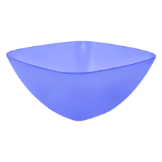 Салатница 180*180*75 мм 1 л (фиолетовый прозрачный) Алеана 168002