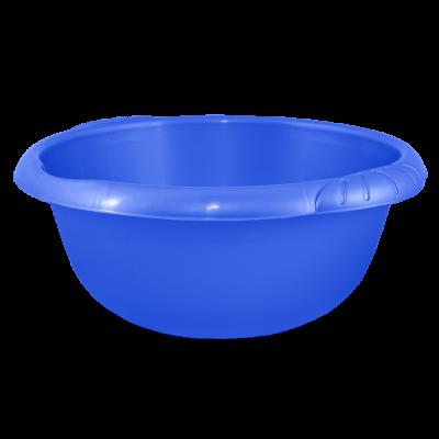 Таз круглый Евро 14 л (синий) Алеана 121059