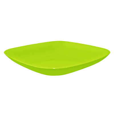 Тарелка 250*250*30 мм 0,9 л (оливковый) Алеана 167063