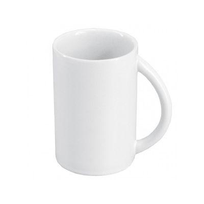 Чашка белая керамическая, 350 мл, ТМ МД