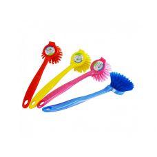 Щетка для мытья посуды, круглая, TM Zambak Plastik